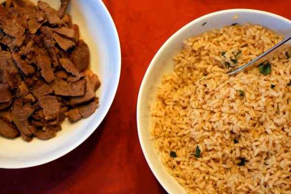 Tri-Tip and Rice