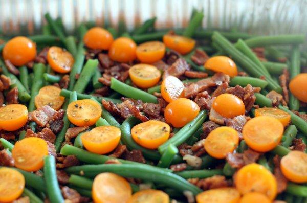 Bacon and Green Bean Salad