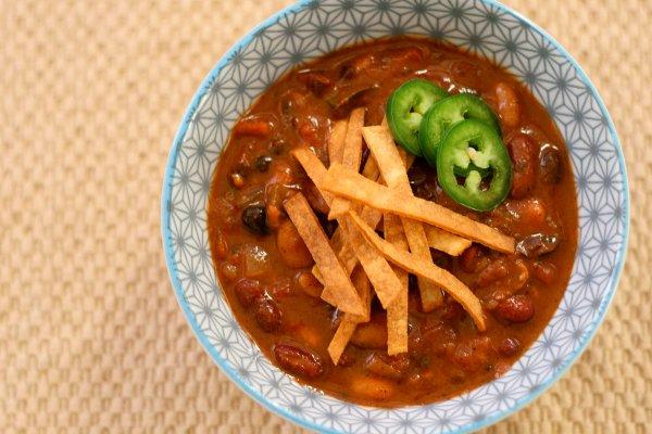 Three Bean Chili Main