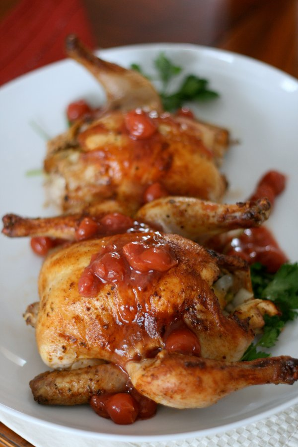 Cornish Hens for Two