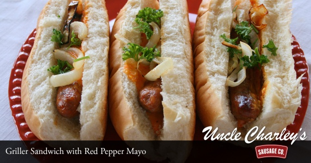 Sausage and Red Pepper Mayo