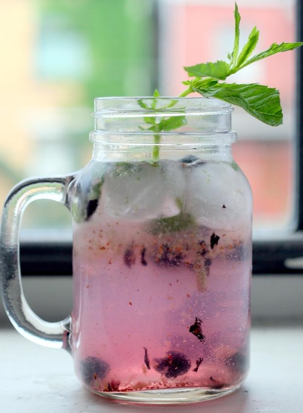 Blueberry Mojito #1