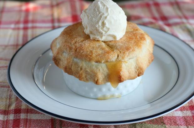 Individual Peach Pie